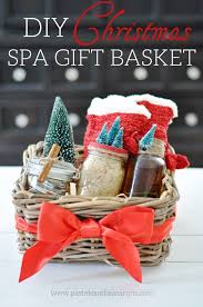 Christmas Gift Basket Diy Spa Gift Basket The Perfect Handmade Christmas Gift