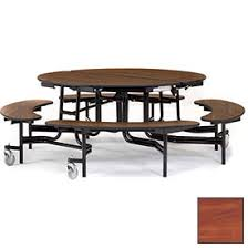 round particle board table top tables cafeteria lunchroom tables nps 174 60 quot round