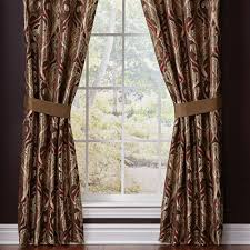 Black And Gold Damask Curtains by Bradney Damask Window Treatment By Croscill