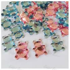 baby shower confetti table scatter christening boy pink blue