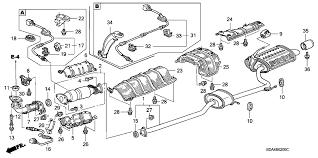 2003 honda accord catalytic converter 18160 rad l10 genuine honda converter
