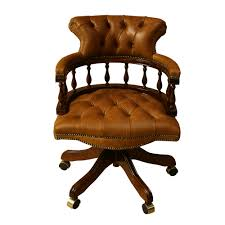 Leather Desk Chair by Inadam Furniture Captains Chair Choice Of Leather Colours