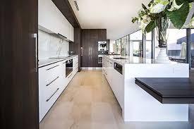 Design Of Modern Kitchen Shape Design Of The Modern Villa