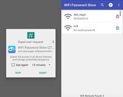 android wifi password how to show wifi password android phone without root
