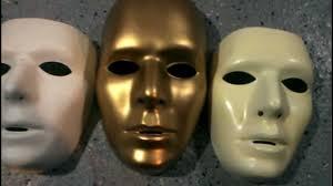 purge masks halloween city rare cesar 86 83 gold blank male mask variant youtube