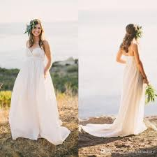 empire wedding dress wedding dresses empire waist discount country bohemian wedding