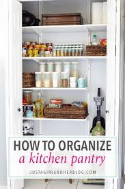 how to organize kitchen cabinet pantry how to organize a kitchen pantry abby lawson