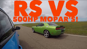 bbc autos with a 500hp 2017 ford focus rs vs 500hp mopar u0027s youtube