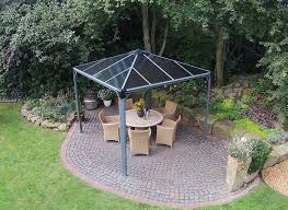 Wilko Garden Furniture Amazon Com Palram Palermo 3000 Gazebo 10 X 10 Gray Patio Lawn