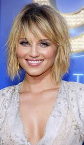 medium length hairstyles for heart shaped face bob length hairstyles 10 celebrities with bobs