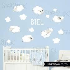 sticker mural chambre bébé stickers muraux chambre bebe stickers muraux chambre bebe et nuages
