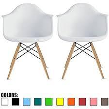 Chair Armchair Amazon Com 2xhome Grey Taupe Eames Chair Armchair Natural