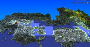 Daylight World Map by Bringing Back The Voxel Starforge Cube World And The Return Of A