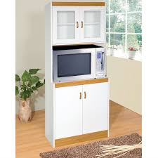 Kitchen Appliance Storage Cabinets by Tall Kitchen Storage Cabinet Cupboard With Microwave Space