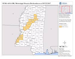 State Of Mississippi Map by Mississippi Severe Storms Tornadoes Straight Line Winds And
