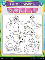 animal pond kids draw u0026 paint android apps on google play