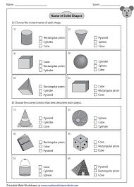 3d shapes worksheets best 25 3d shapes worksheets ideas on