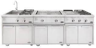 Dcs Outdoor Kitchen - dcs liberty dual side burner and sink on cad cart