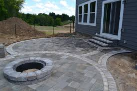 Stone Firepit by Stone Fire Pit Ideas Rosemount Mn Devine Design Hardscapes
