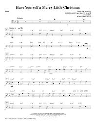 yourself a merry bass sheet direct