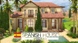Spanish House Style The Sims 4 Speed Build Spanish House Around The World Youtube
