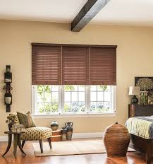 Wood Grain Blinds Faux Wood Blinds At Blindsgalore Com