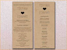 cheap wedding ceremony programs 8 wedding ceremony programs formal letter