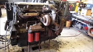 1997 detroit diesel series 60 ddec iv 12 7l engine running youtube