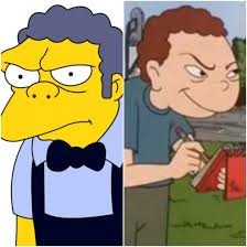 Moe Meme - i think randall weems aka the snitch from disneys recess is moe