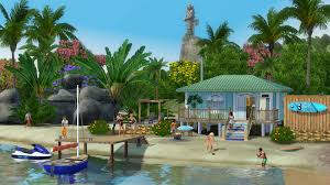 Sims Freeplay Beach House by The Sims 3 Tips On How To Make Island Paradise Playable Sims