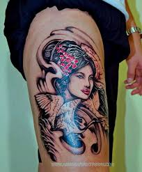 portrait geisha gallery anna hang tattoo