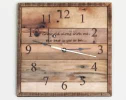 Personalized Anniversary Clock Personalized Wall Clock Wedding Gift Laser Engraved Custom