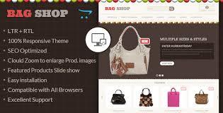 bag shop opencart responsive theme by templatemela themeforest