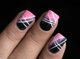 cute ombre nails with sponge l long short nail designs youtube