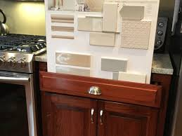 what backsplash looks with cherry cabinets choosing backsplash with cherry cabinets and light granite