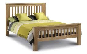 julian bowen coxmoor solid oak amsterdam oak bed high foot end julian bowen limited
