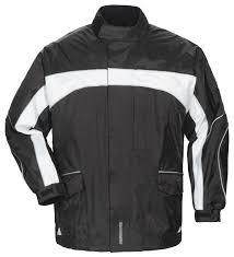 black motorcycle jacket mens tour master elite 3 0 rain jacket revzilla