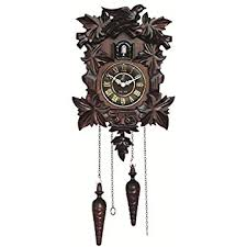 Home Design Furniture Kendal Amazon Com Kendal Handcrafted Wood Cuckoo Clock Home U0026 Kitchen