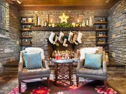 Interior Design Fireplace Living Room 28 Christmas Mantel Decorating Ideas Hgtv