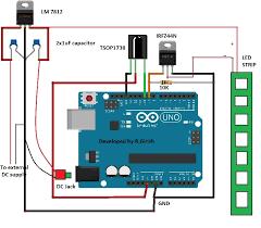 led light controller using ir remote and arduino arduino