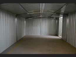 box auto in lamiera zincata prezzi box garage auto in lamiera zincata 360x514x230 verde carrello