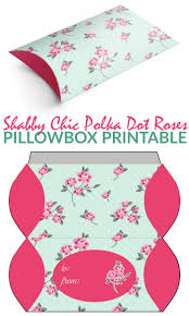 shabby chic polka dot roses pillowbox frugal mom eh