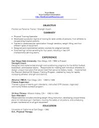 athletic trainer resume sample corporate trainer resume examples
