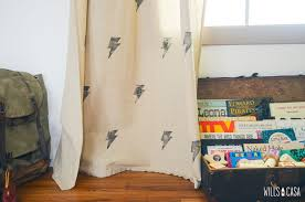 Where The Wild Things Are Curtains The Ron Swanson Nursery Wills Casawills Casa