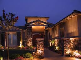 garden wall lighting ideas