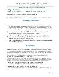 ultrasound resume jeff ultrasound resume pdf