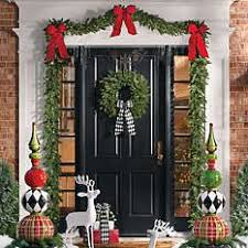 Quality Outdoor Christmas Decorations by Harper Holiday Topiary Holidays Christmas Topiary And Front
