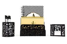 amazon black friday white desk black and gold office supplies amazon com