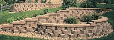 perfect design concrete wall blocks best estate landscape wall