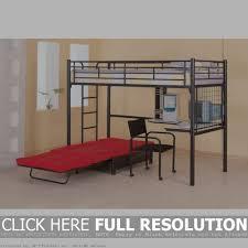 loft bed with futon vnproweb decoration